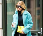 I'd Cut Off My Right Arm To Have Rosie Huntington-Whiteley's Coat Collection