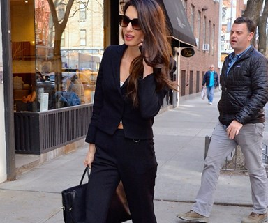 Amal Clooney Offers A Master Class In 9-5 Style