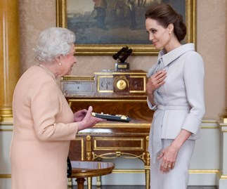 Here's The Lesson Angelina Jolie Is Teaching Her Kids Courtesy Of Queen Elizabeth II