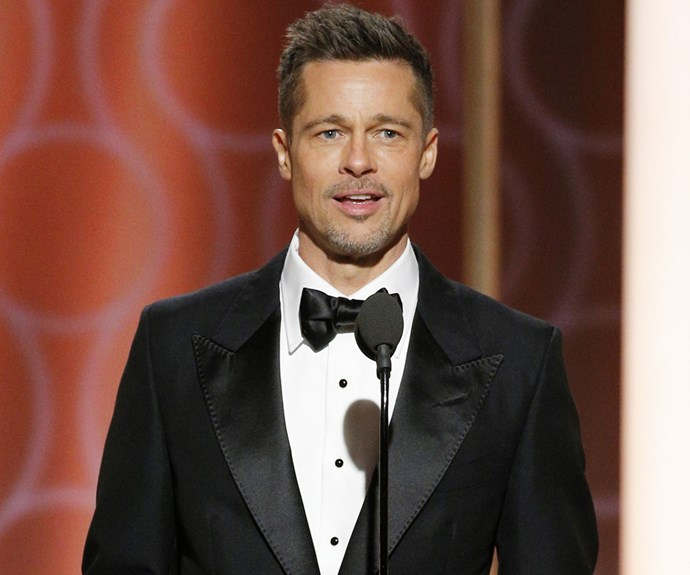 "Brad Pitt Is Reportedly ""Much Happier"" Since Separating From Angelina Jolie"