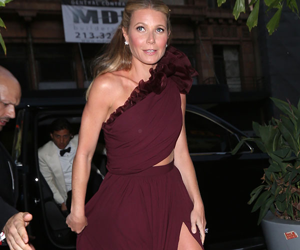 Getting remarried? Go bigger. Go Gwyneth Paltrow