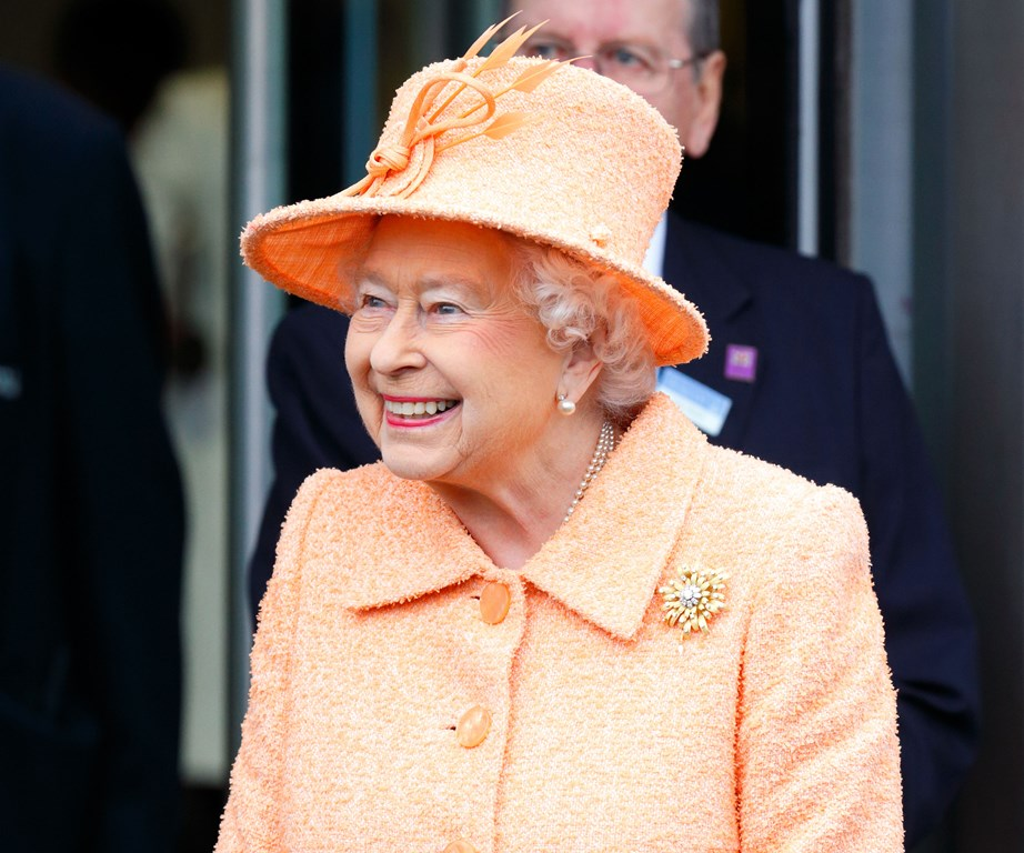 The Queen is almost only ever seen wearing bright colours as to stand out in a crowd.
