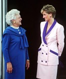 How Former First Lady Barbara Bush Made Costume Jewellery Cool