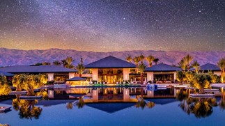 A Glimpse At Gigi And Bella Hadid's $449,000 Coachella Weekend Villa