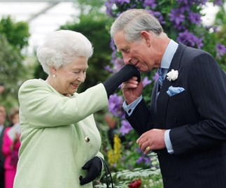 Queen Elizabeth Prince Charles Chelsea Flower Show