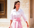 Queen Rania Of Jordan Just Channelled One Of Grace Kelly's Most Iconic Looks