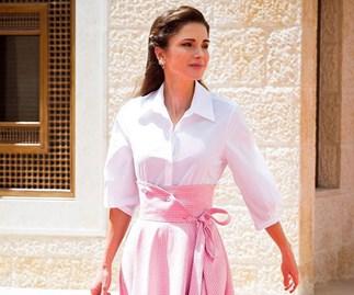 queen rania of jordan outfits