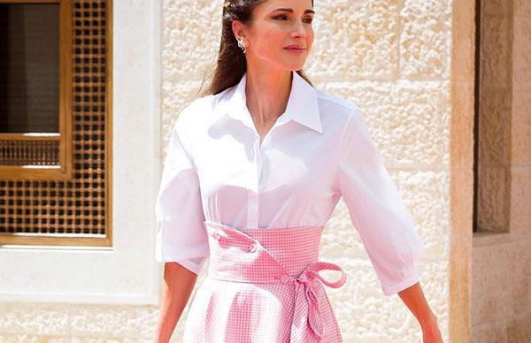 queen rania of jordan outfits