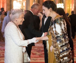New Zealand Prime MinisterJacinda ArdernWore A Traditional Māori Cloak To Buckingham Palace