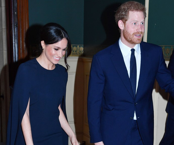 Meghan Markle Attended The Queen's Birthday Celebration In A Chic Stella McCartney Cape Dress