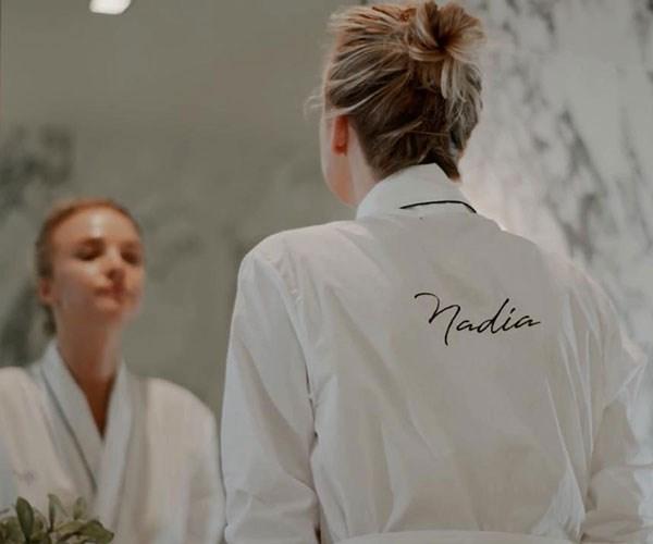 Nadia Fairfax beauty routine