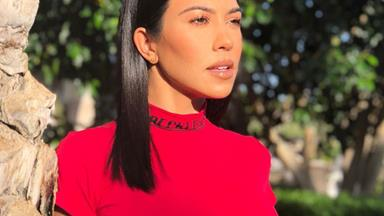 Kourtney Kardashian Uses This Very Affordable Face Cream To Enhance Her Makeup Looks