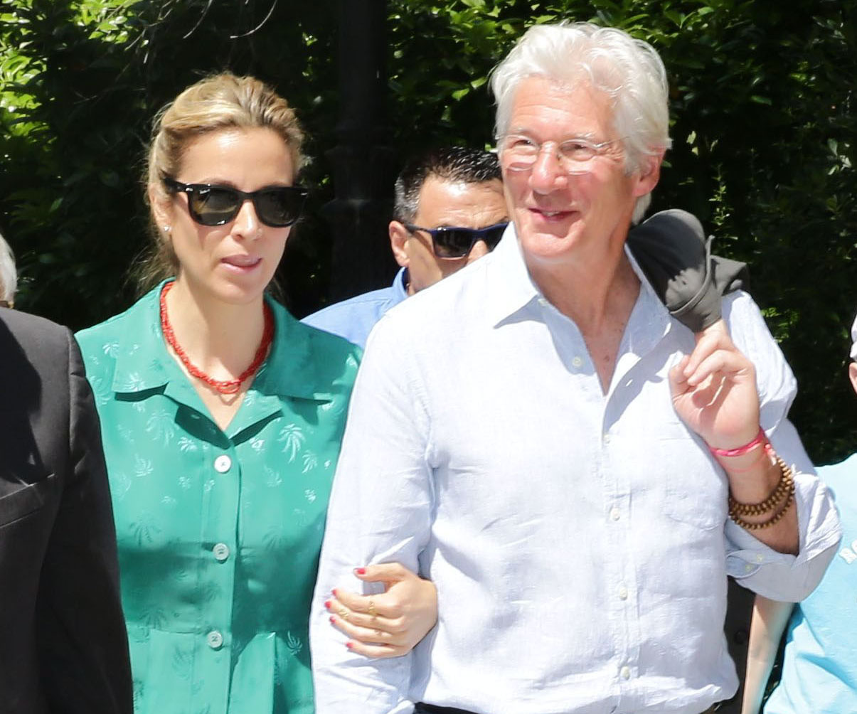 Richard Gere and Alejandra Silva are married