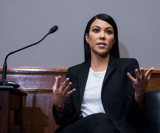 Kourtney Kardashian Visited Congress To Discuss Cosmetic Regulations