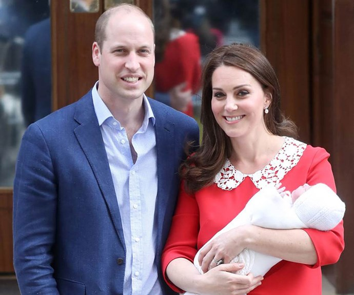 "Prince William Reveals He and Kate Middleton Are Still ""Working On"" A Name For The Royal Baby"