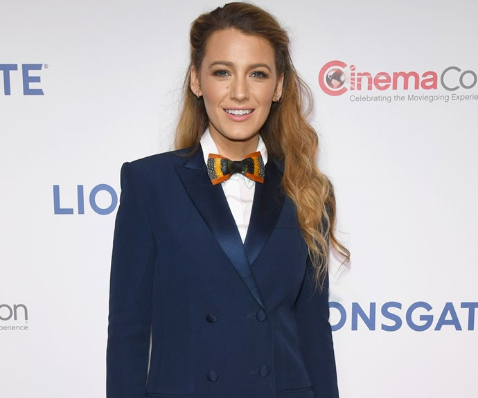 Blake Lively Rethinks Menswear-Inspired Style With A Tuxedo Dress On The Red Carpet
