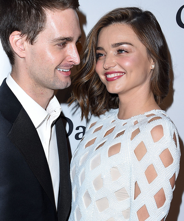 Miranda Kerr and Evan Spiegel are the parents of