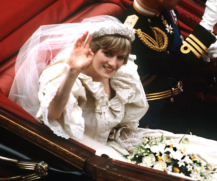 Princess Diana's Wedding Dress Designer Was Just Spotted At Windsor Castle