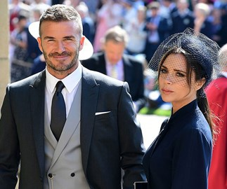 Victoria Beckham Just Arrived At The Royal Wedding Looking Impossibly Chic