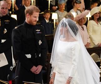 Prince Harry and Meghan Markle royal wedding.