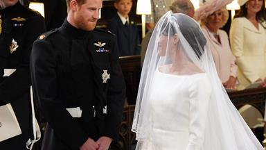 Meghan Markle And Prince Harry's First Kiss At The Royal Wedding