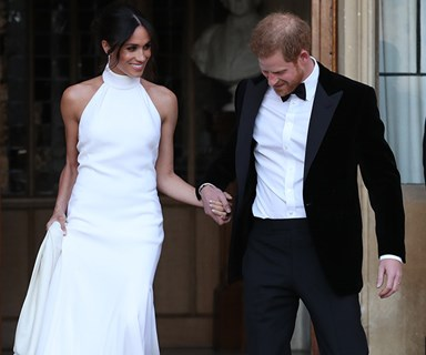 How Meghan Markle Incorporated Her 'Something Blue' At The Royal Wedding