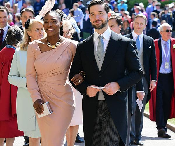 Serena Williams Wears Sneakers To The Royal Wedding