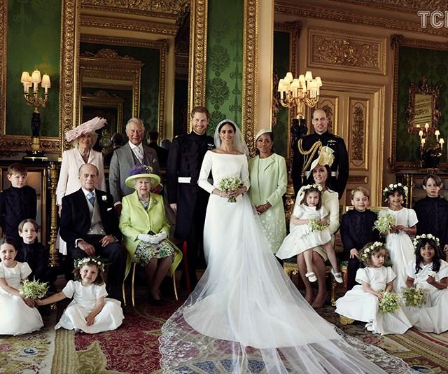 Royal Wedding Portraits Identified