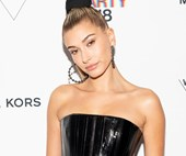 Hailey Baldwin Wears Alex Perry To The Whitney Gala In New York