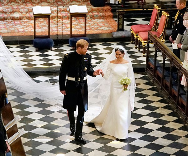 The Untold Story of Meghan Markle's Wedding Dress