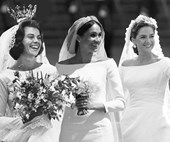 Meghan Markle's Wedding Dress Featured A Trend Nearly Every Royal Bride Has Worn
