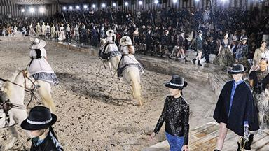 Dior Makes The Case For Equestrian Chic At Cruise