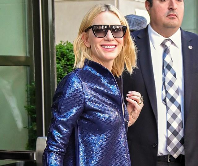 Cate Blanchett suit