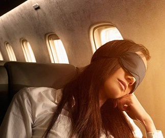 Why Wearing Makeup On Flights Is So Bad For Your Skin