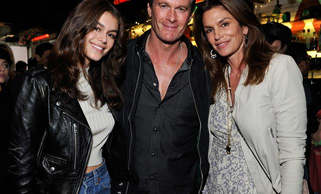 kaia gerber cindy crawford anniversary