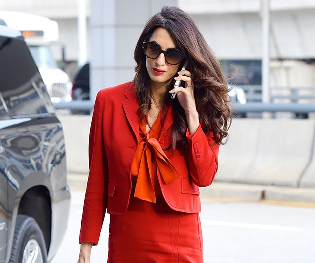 amal clooney outfit