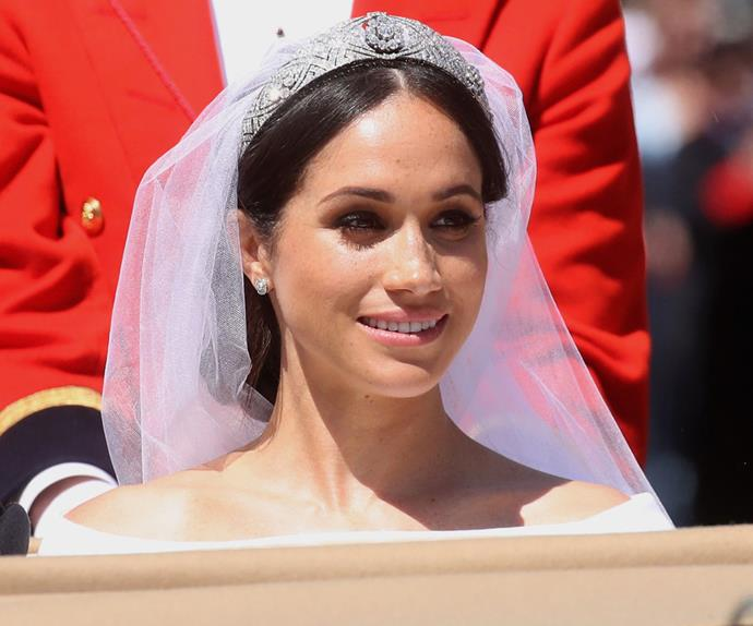 meghan markle wedding hair makeup