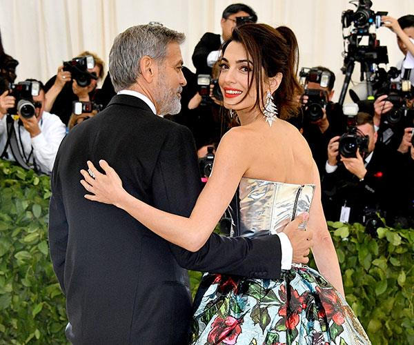 Amal Clooney Tom Ford Met Gala 2018 Drama