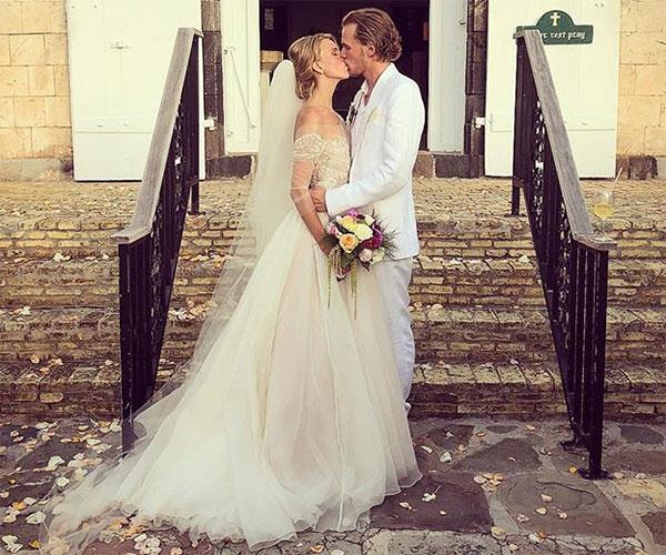 Barron Hilton Tessa Grafin Bon Walderdorf Wedding