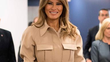 Melania Trump's Best First Lady Fashion Moments