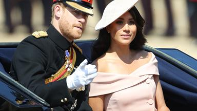 No, Meghan Markle's Trooping The Colour Dress Didn't Break Any 'Royal Rules'