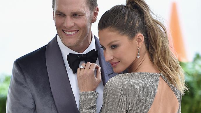 Tom Brady and Gisele Bundchen.
