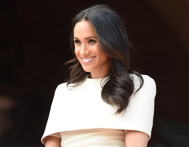 Meghan Markle Wears Bespoke Givenchy For First Solo Outing With The Queen