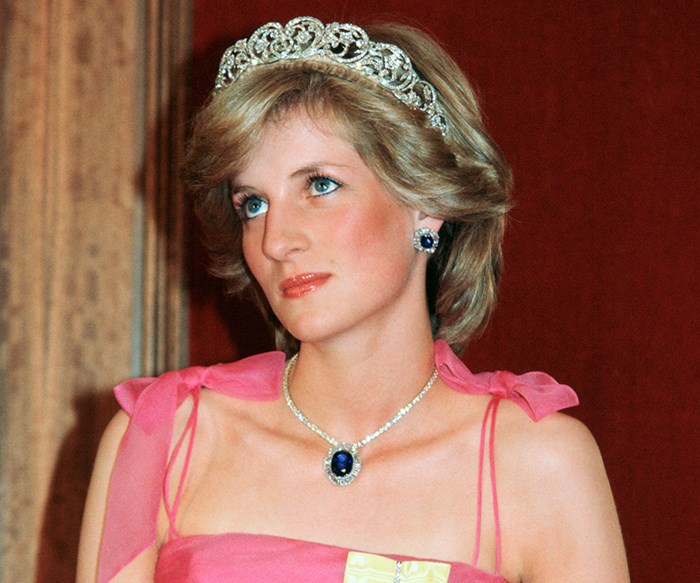 Diana, Princess Of Wales', Favourite Tiara Seen For The First Time In 25 Years