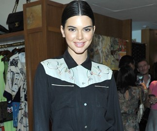 Kendall Jenner Paired Bike Shorts With Cowboy Boots Proving Models Really Can Wear Anything