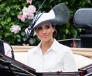 Meghan, Duchess Of Sussex, Wears Bespoke Givenchy For Royal Ascot Debut