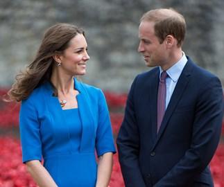 prince william recreates Kate Middleton photo