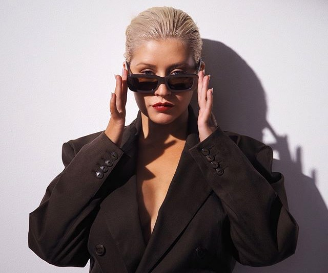 christina aguilera fashion 2018
