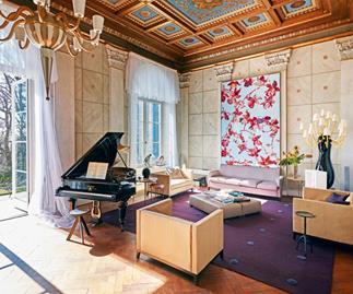 Karl Lagerfeld German villa.