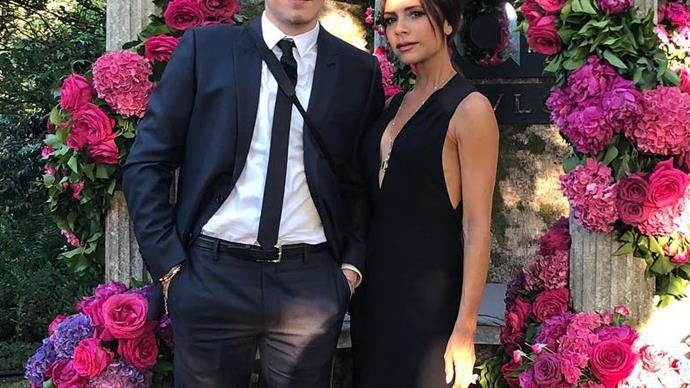 Brooklyn Beckham Accompanied Victoria Beckham To A Star-Studded Charity Ball In Windsor